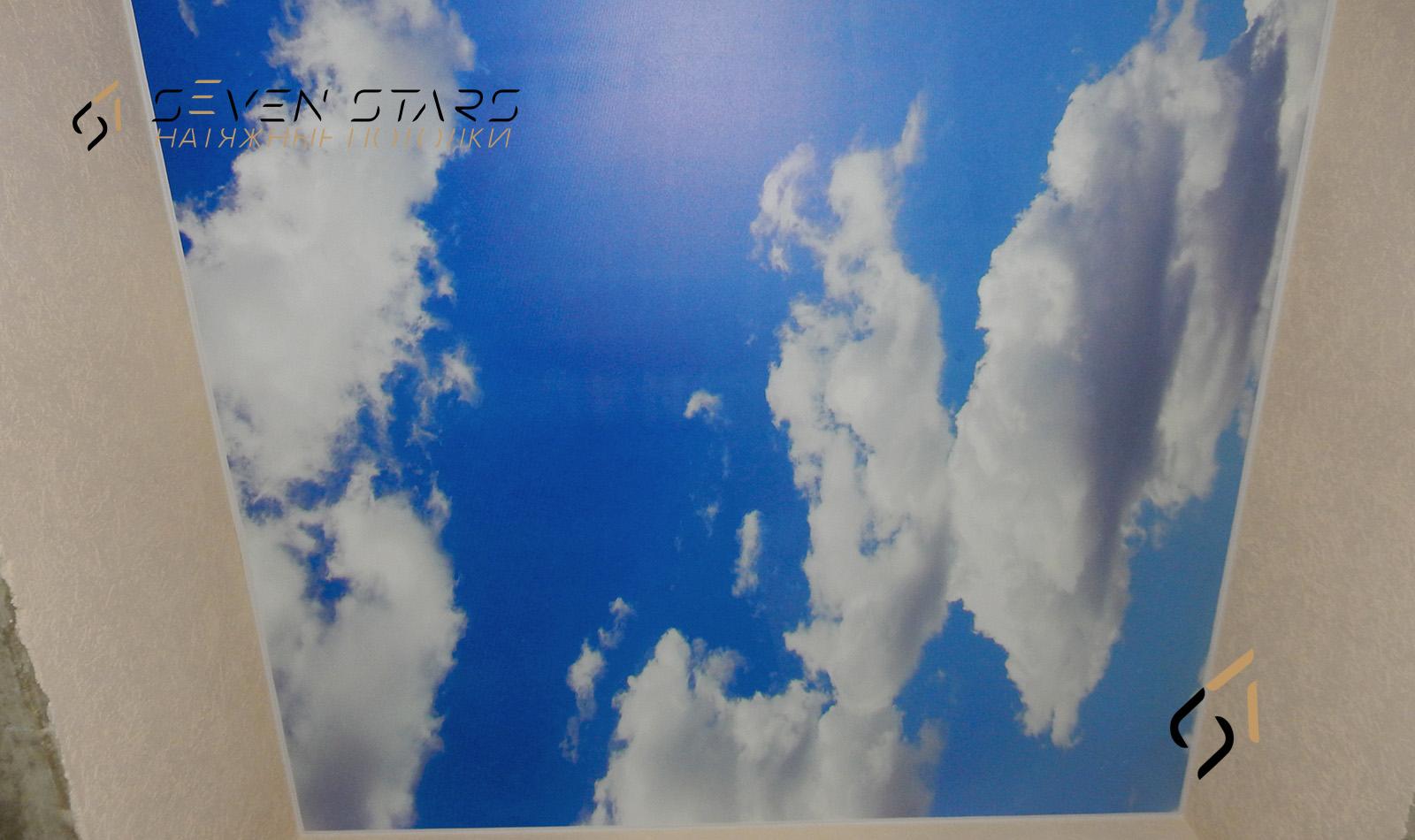 Потолки с фотопечатью 25