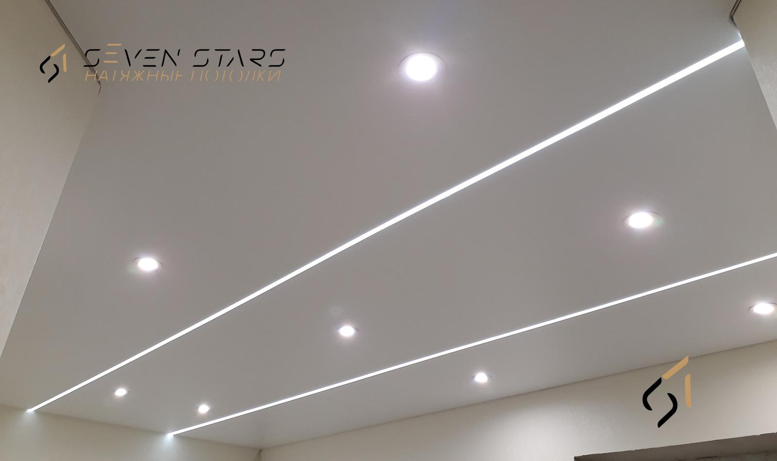 Световые потолки 7