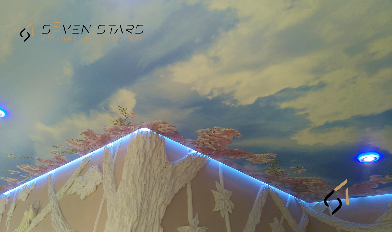 Галерея световых потолков 5