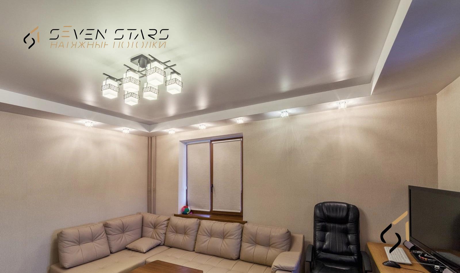 Галерея сатиновых потолков 6