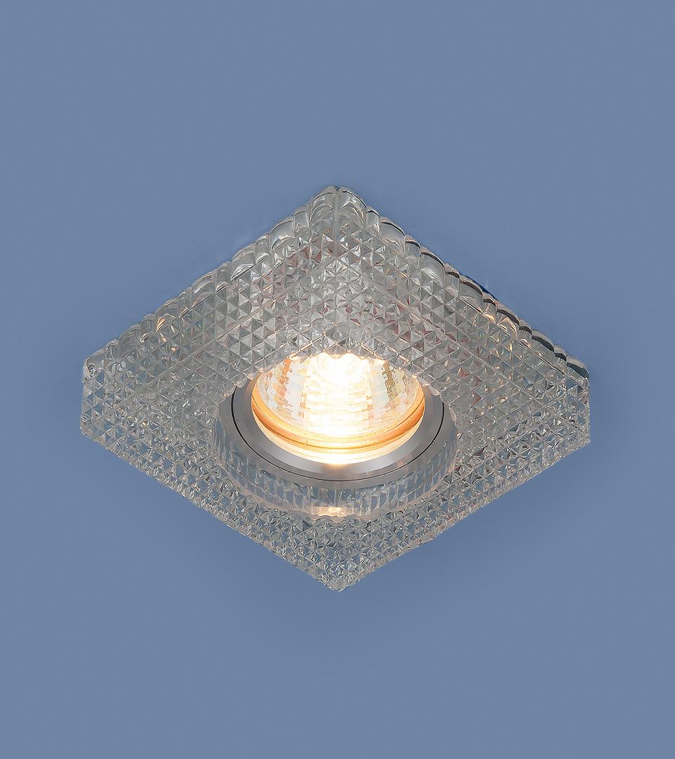 Точечный светильник с LED подсветкой 2214 MR16 CL прозрачный 2
