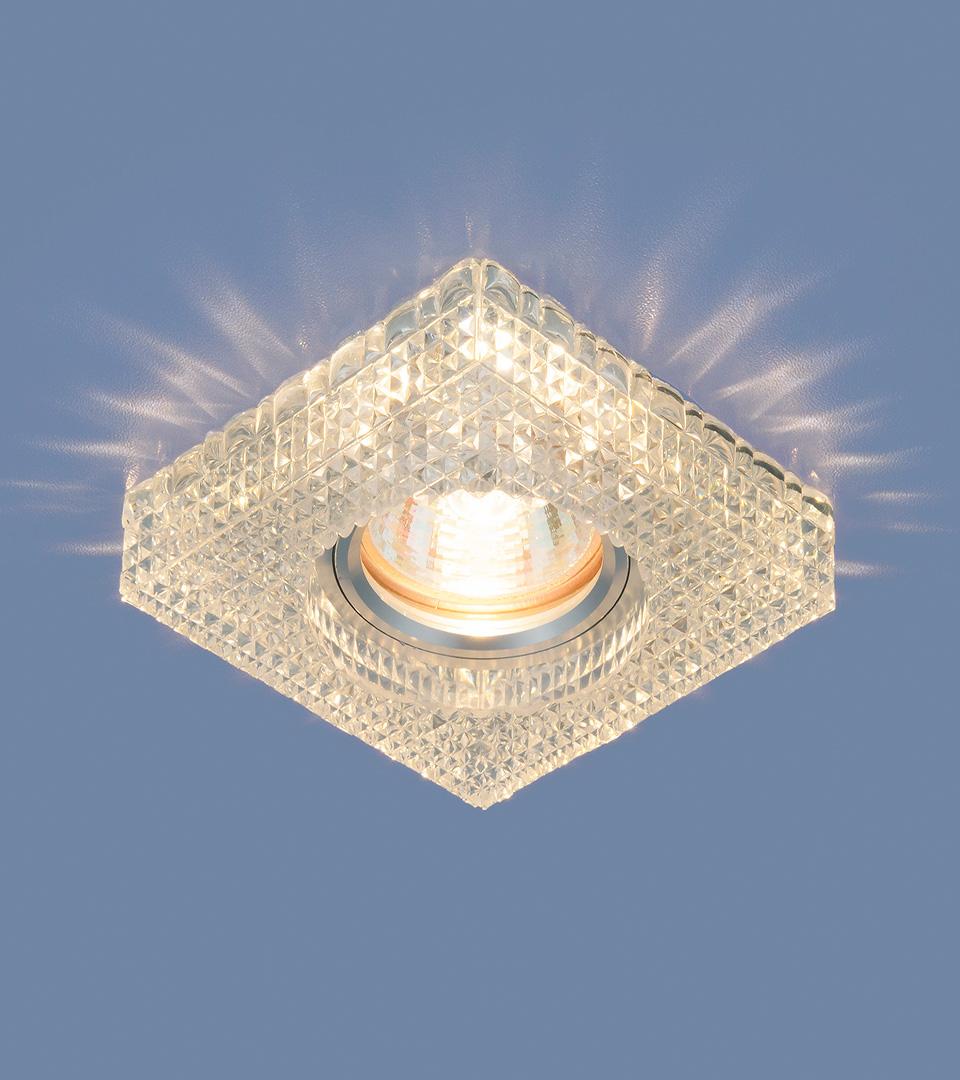 Точечный светильник с LED подсветкой 2214 MR16 CL прозрачный 3