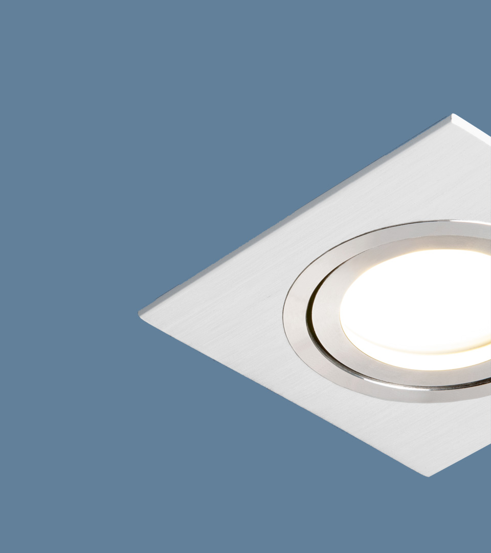 Точечный светильник поворотный 1051/1 WH белый 3