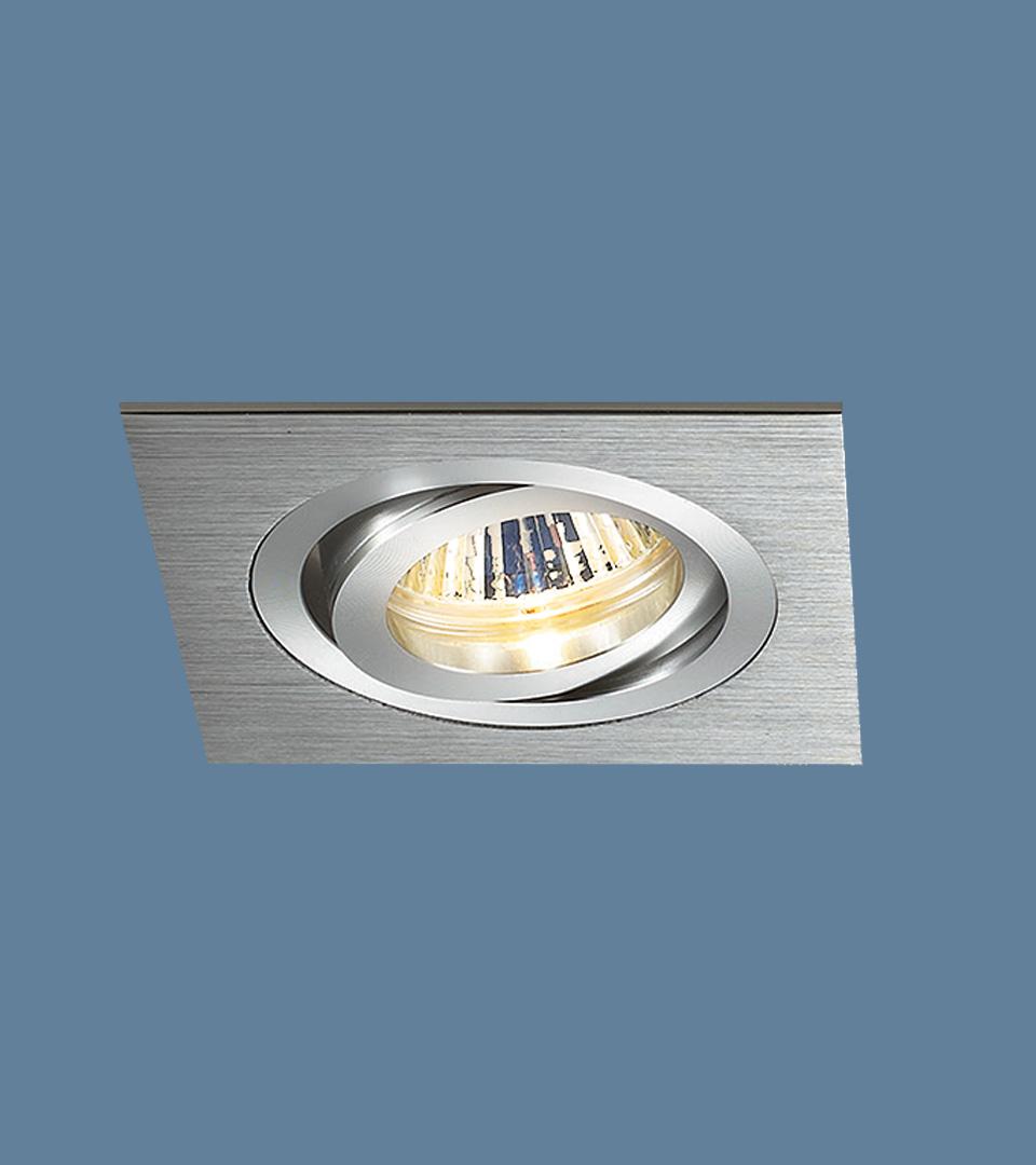 Алюминиевый точечный светильник 1011/1 MR16 CH хром 1