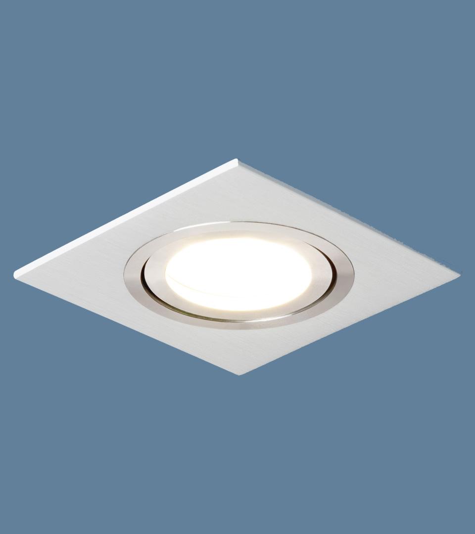 Точечный светильник поворотный 1051/1 WH белый 2