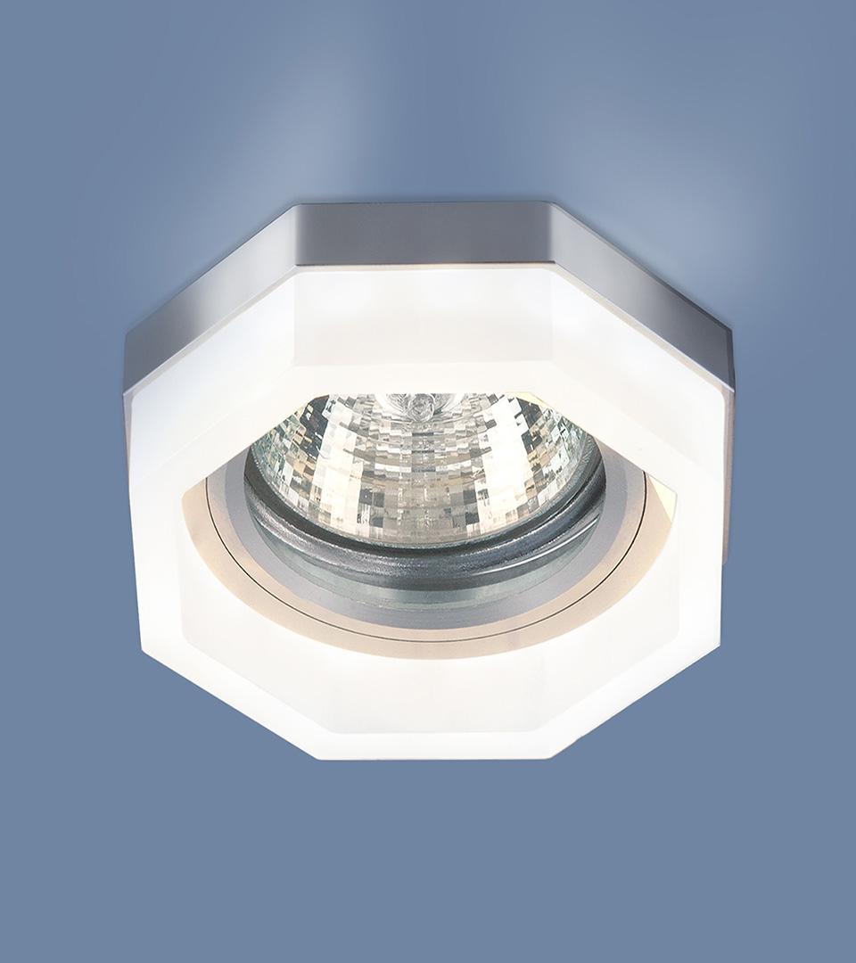 Встраиваемый потолочный светильник с LED подсветкой 2206 MR16 MT матовый 2