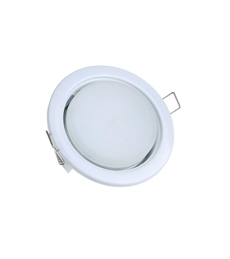 Ecola GX53 H4-GL светильник встраиваемый глубокий Белый 48 x 106 2