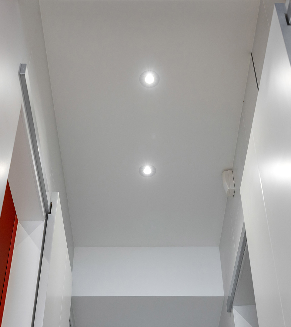 Алюминиевый точечный светильник 2100 MR16 WH белый 2