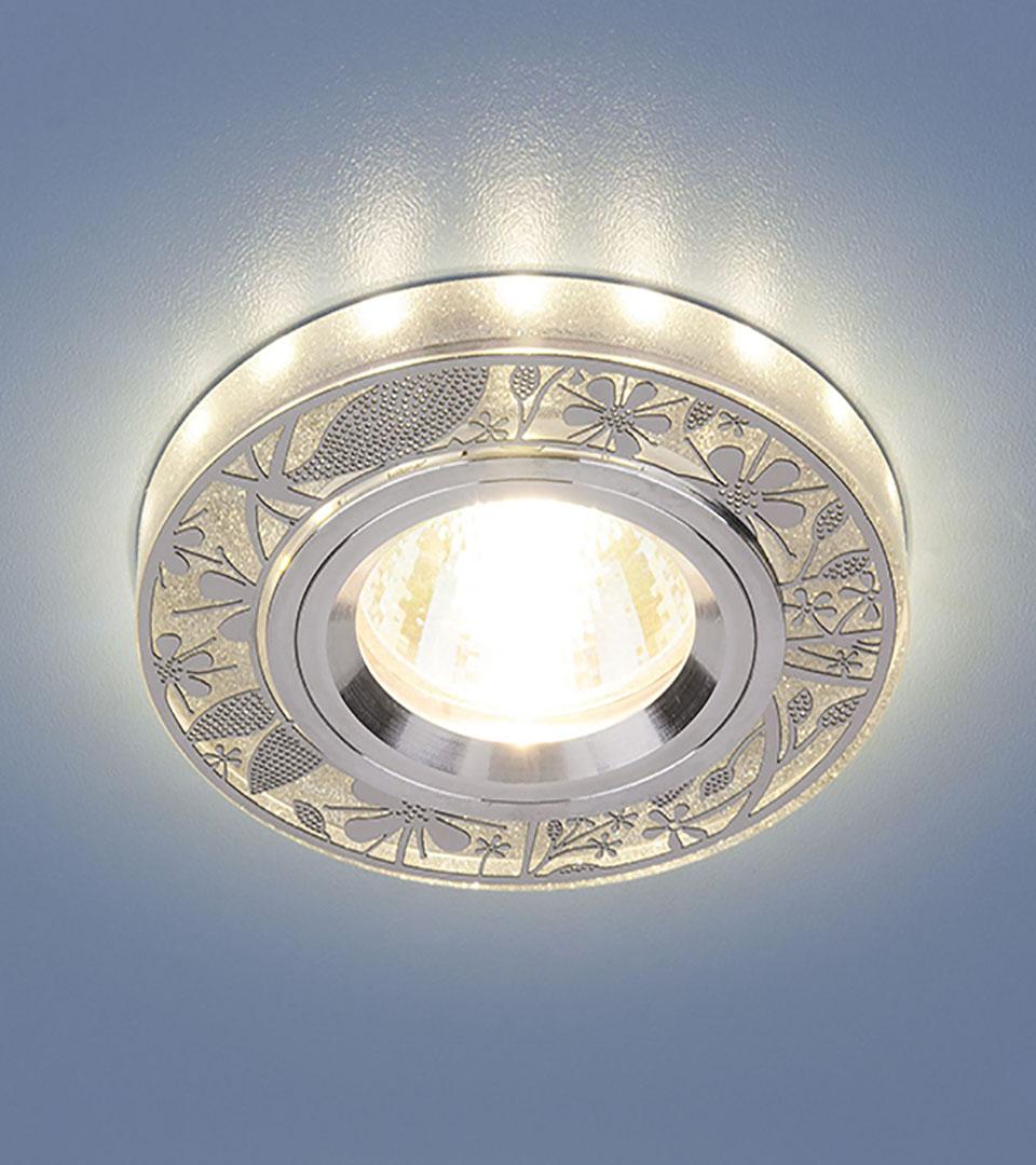 Точечный светильник с LED подсветкой 8096 MR16 SL 1