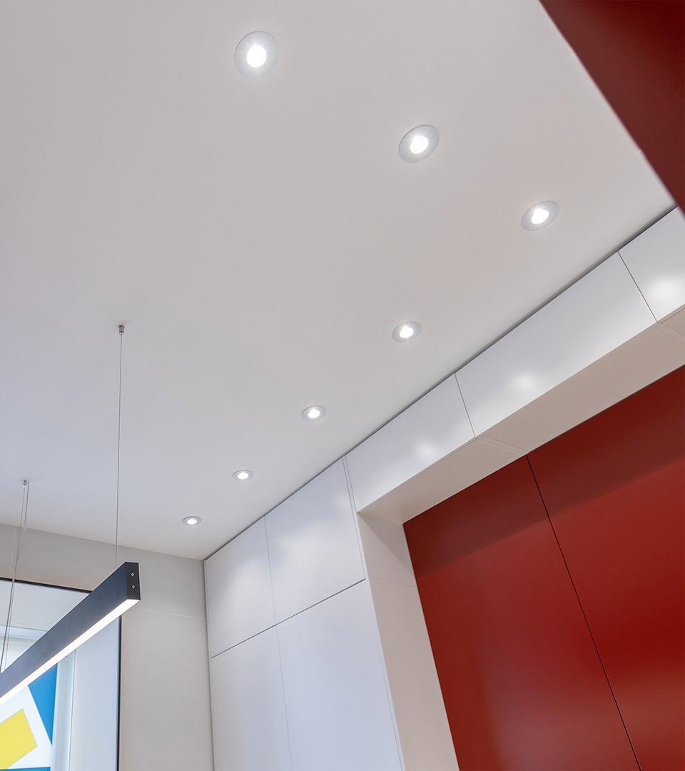 Алюминиевый точечный светильник 2100 MR16 WH белый 3