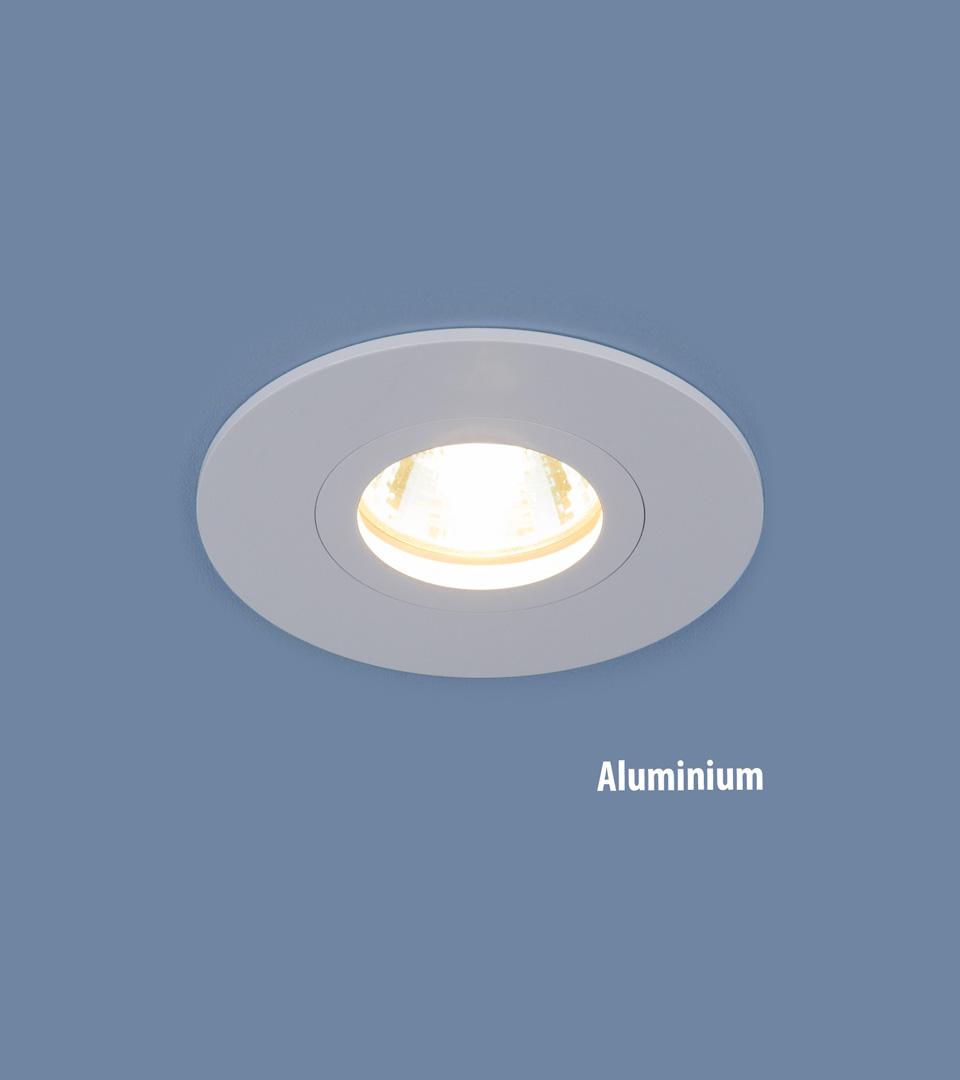 Алюминиевый точечный светильник 2100 MR16 WH белый 1