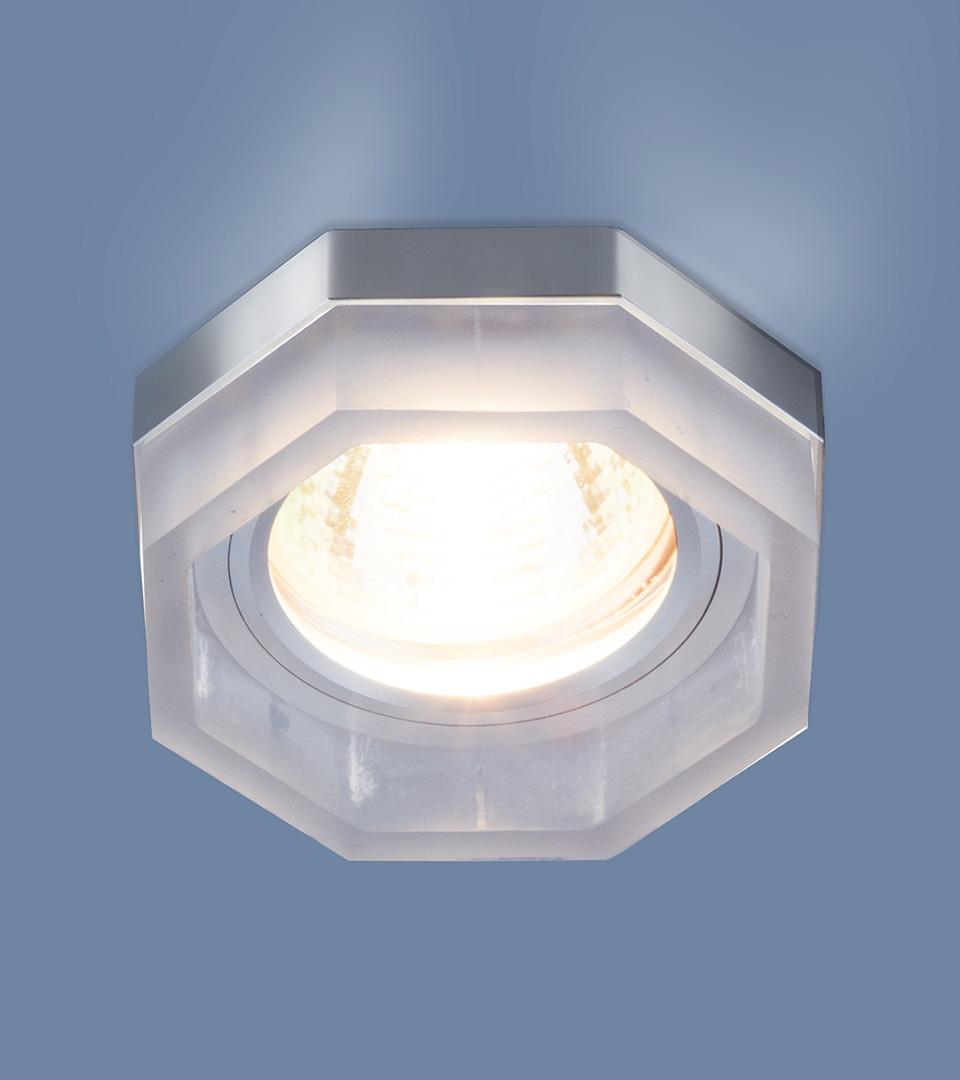 Встраиваемый потолочный светильник с LED подсветкой 2206 MR16 MT матовый 1