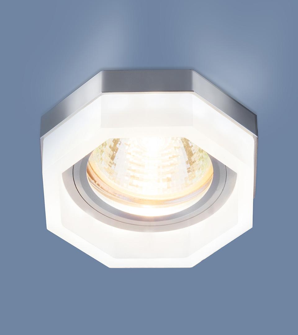 Встраиваемый потолочный светильник с LED подсветкой 2206 MR16 MT матовый 3