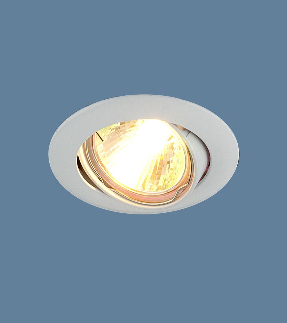 Точечный светильник с поворотным механизмом 104S MR16 WH белый 1