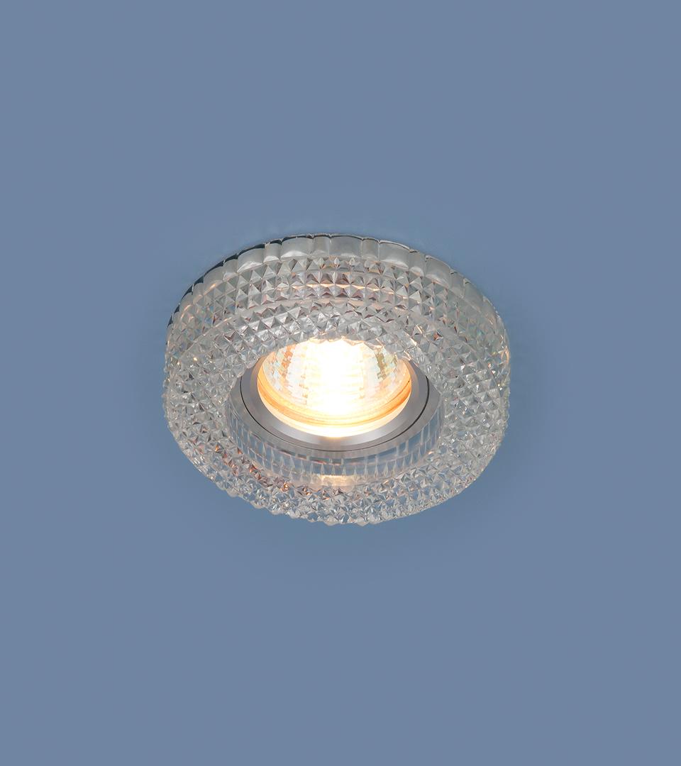 Точечный светильник с LED подсветкой 2213 MR16 CL прозрачный 2