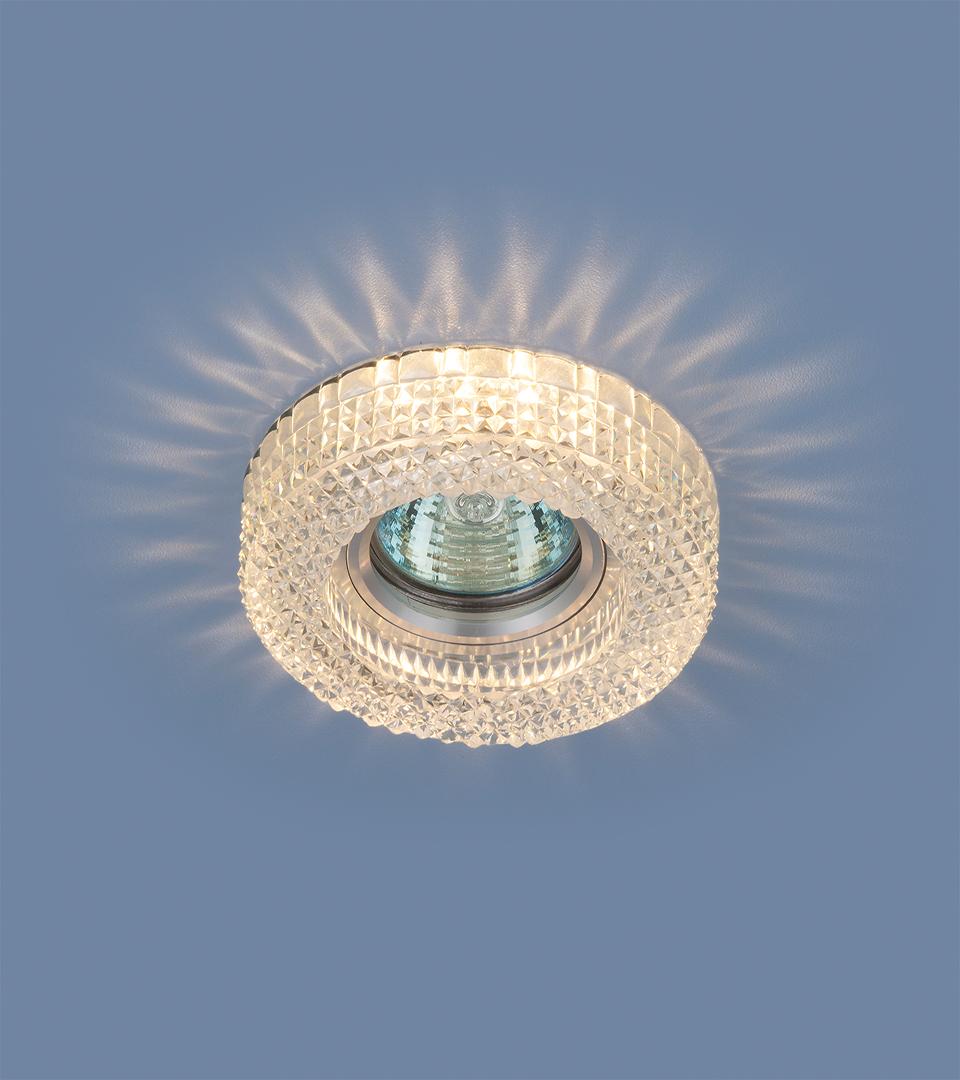 Точечный светильник с LED подсветкой 2213 MR16 CL прозрачный 1
