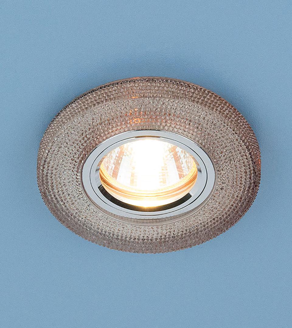 Точечный светильник с LED подсветкой 2130 MR16 GС тонированный 2