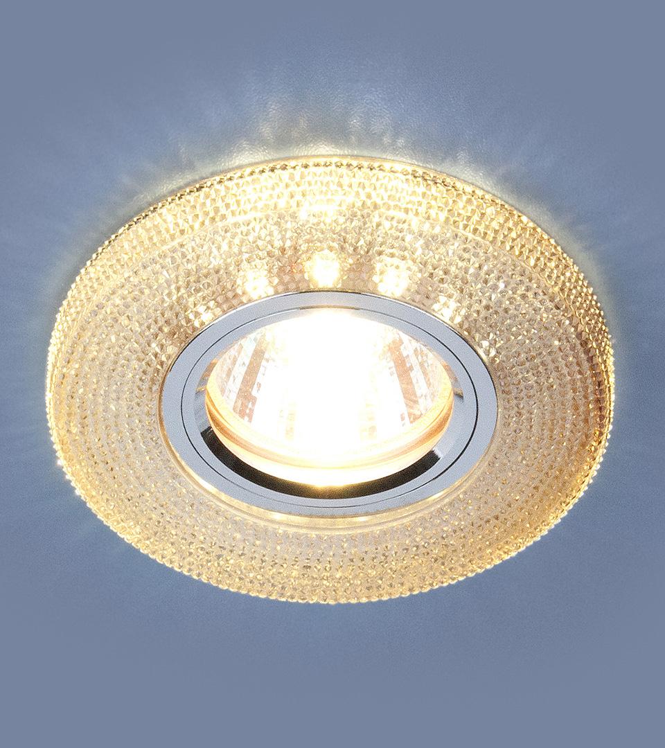 Точечный светильник с LED подсветкой 2130 MR16 GС тонированный 3