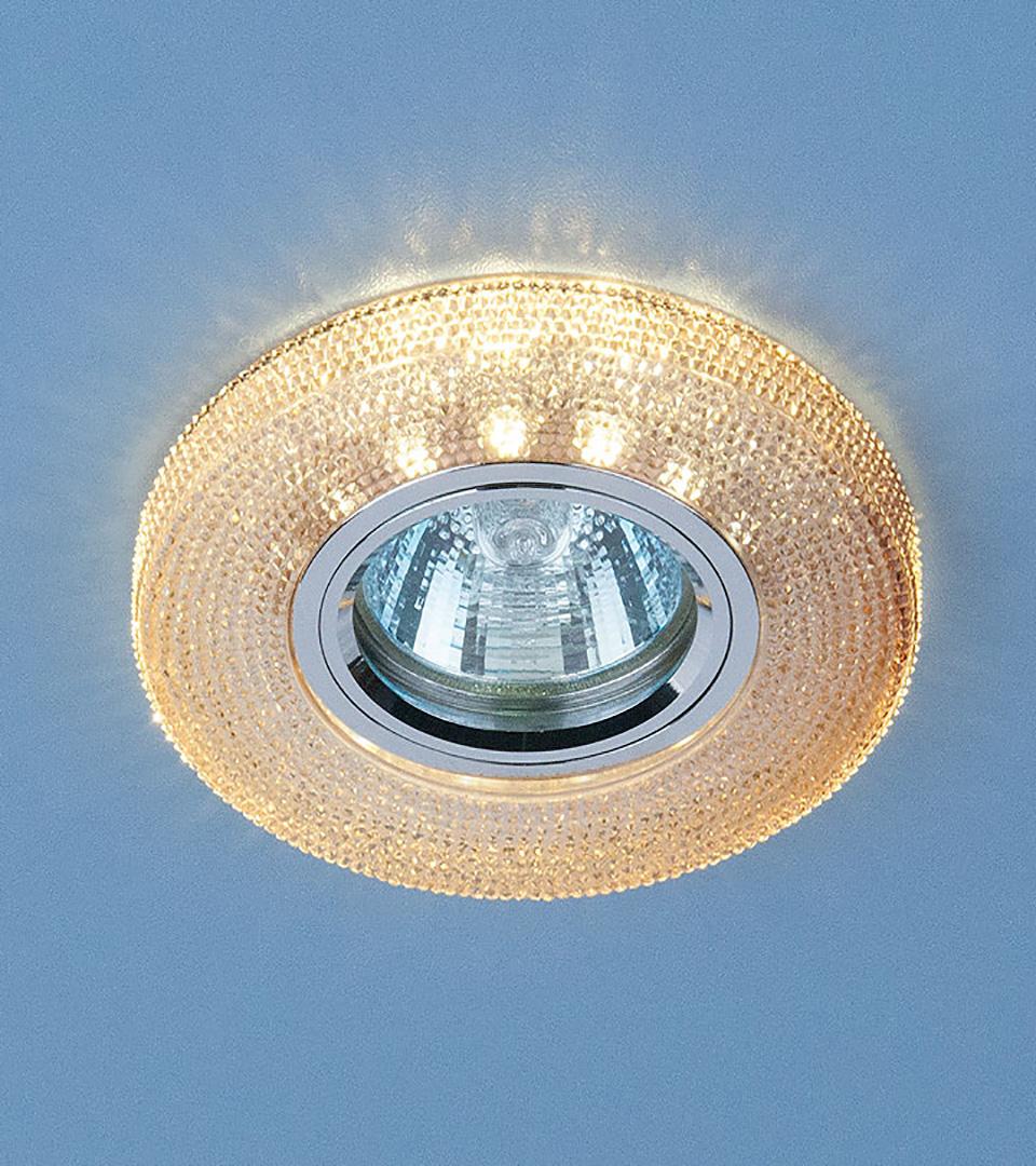 Точечный светильник с LED подсветкой 2130 MR16 GС тонированный 1