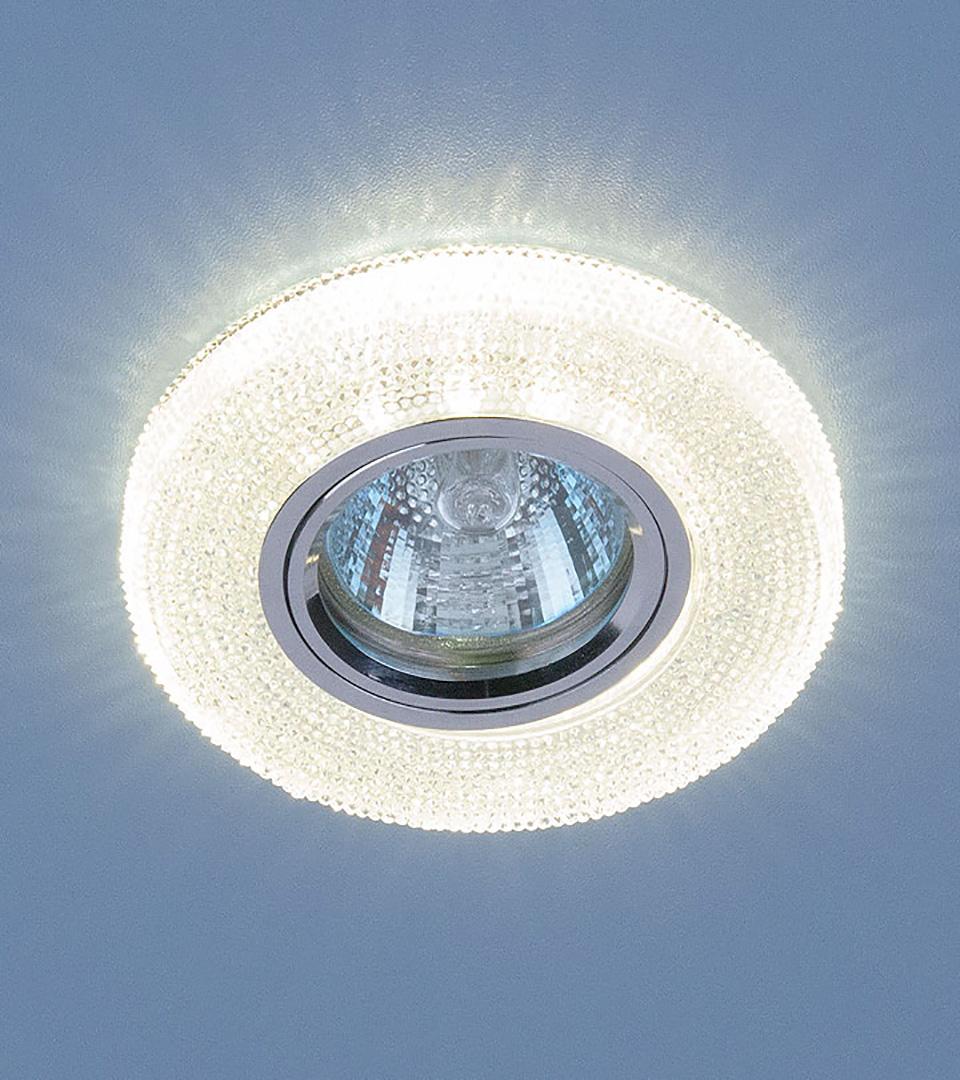 Точечный св с LED подсветкой 2130 MR16 CL прозрачный светильник 3