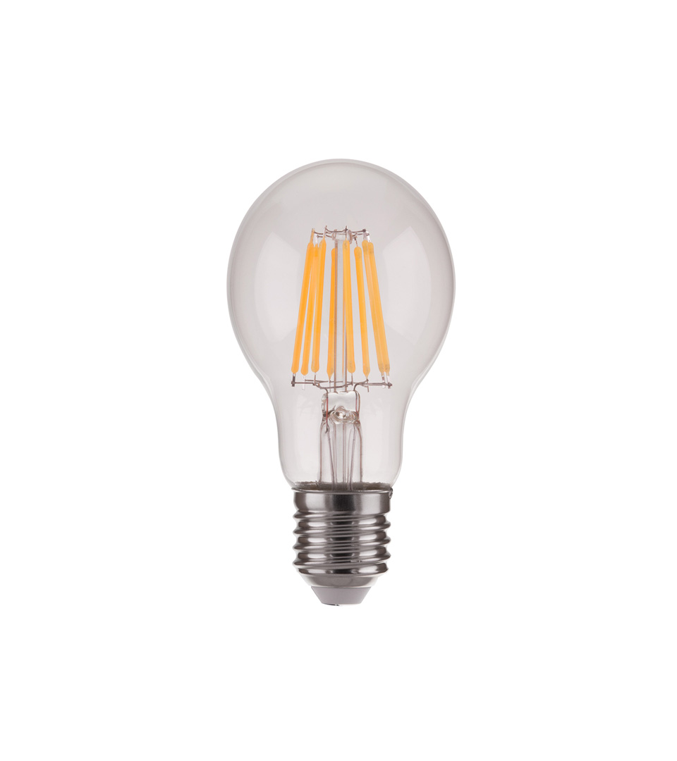 Филаментная светодиодная лампа A60 A60 9W 4200K E27 1