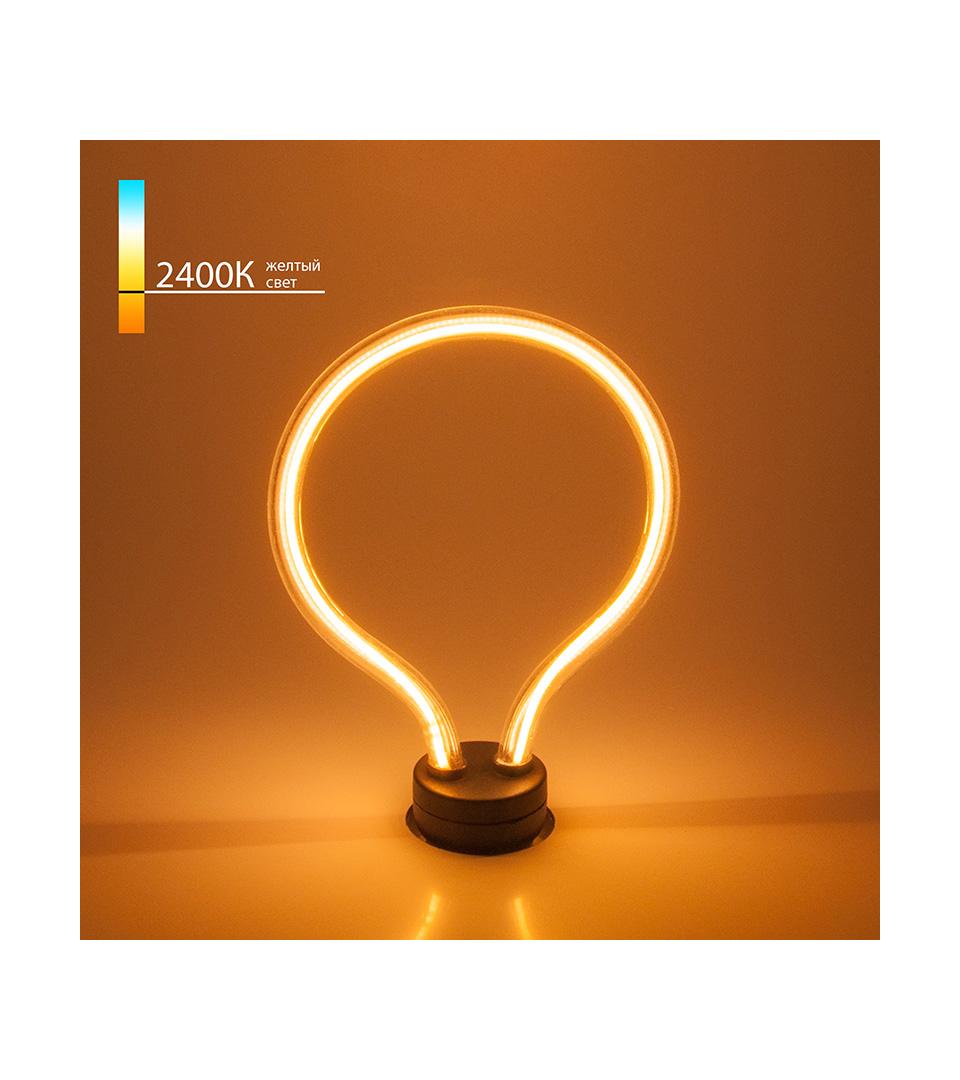 Светодиодная лампа Art filament 4W 2400K E27 4