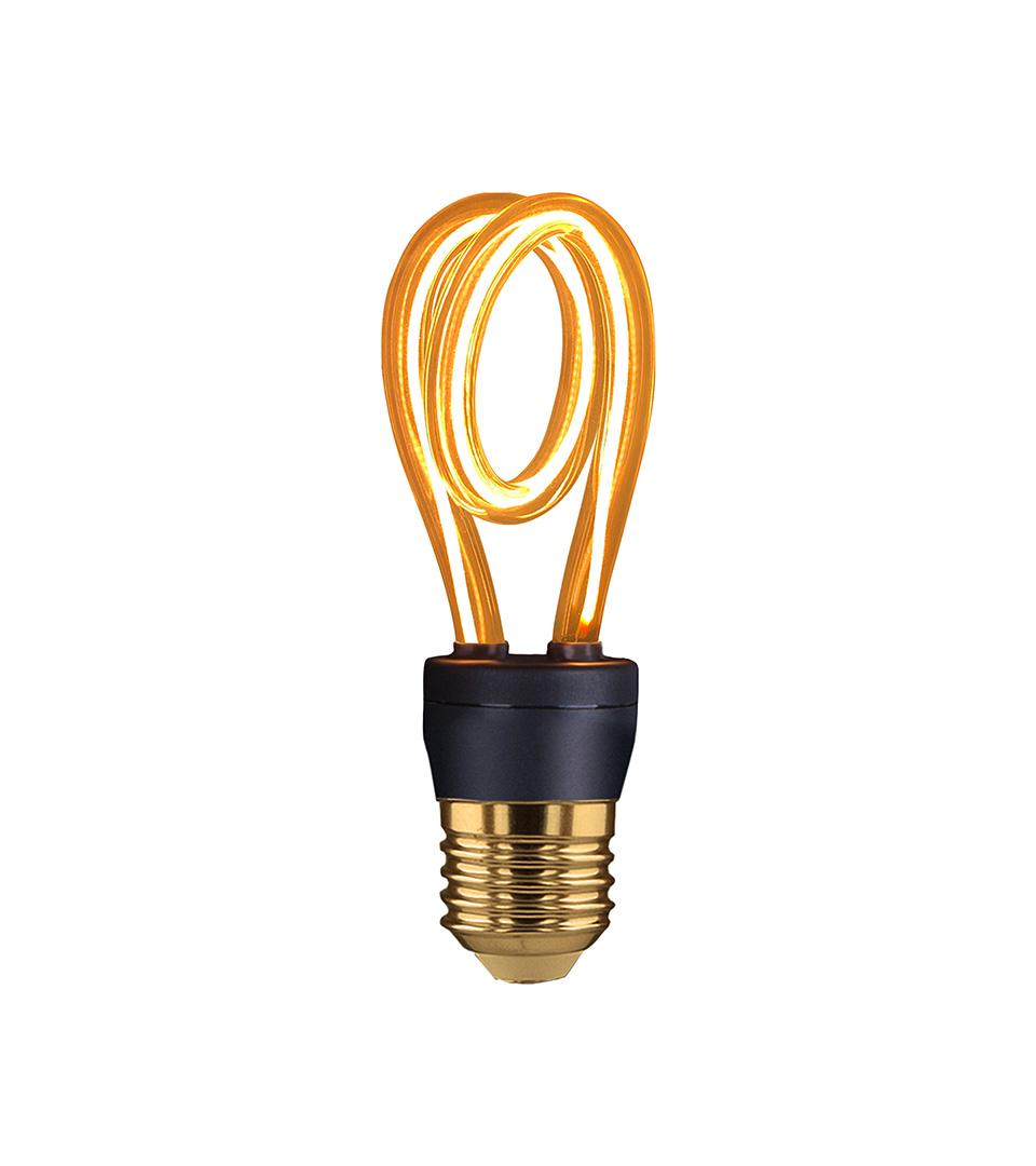 """Филаментная светодиодная лампа """"Свеча"""" C35 5W 4200K E14 2"""