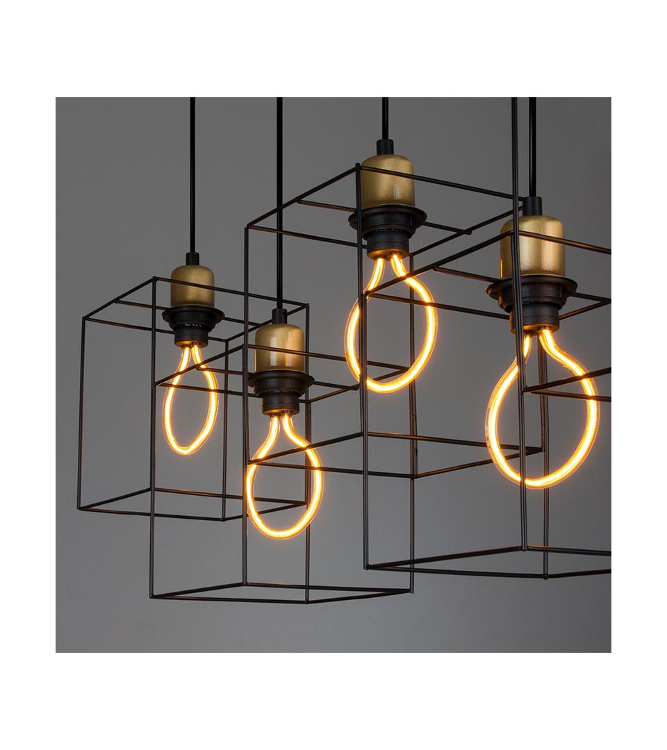 Светодиодная лампа Art filament 4W 2400K E27 3