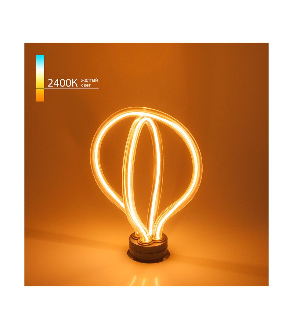 Светодиодная лампа Art filament 8W 2400K E27 4