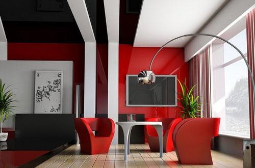Натяжные потолки в современных стилях 4