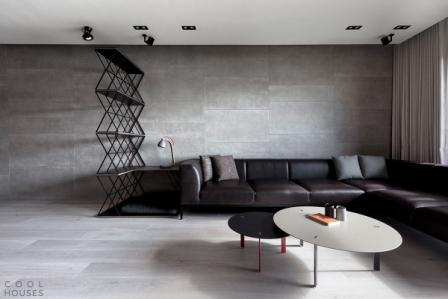 Натяжные потолки в современных стилях 7