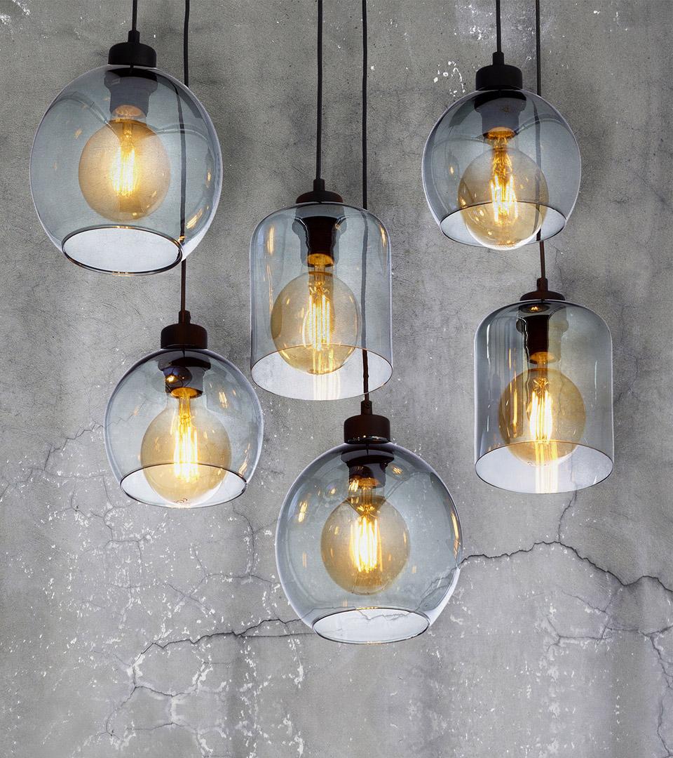 Подвесной светильник со стеклянными плафонами 2608 Sintra 2