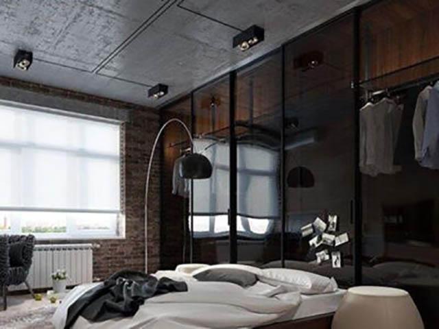 Натяжные потолки в стиле лофт