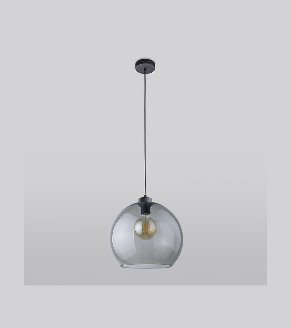 Подвесной светильник со стеклянным плафоном 4292 Cubus Graphite 1