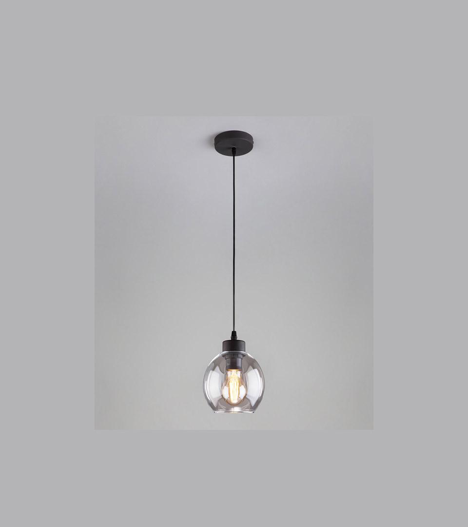 Подвесной светильник с круглым стеклянным плафоном 4319 Cubus 1