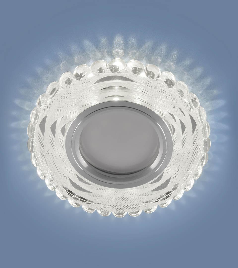 Встраиваемый точечный светильник с LED подсветкой 2246 MR16 1