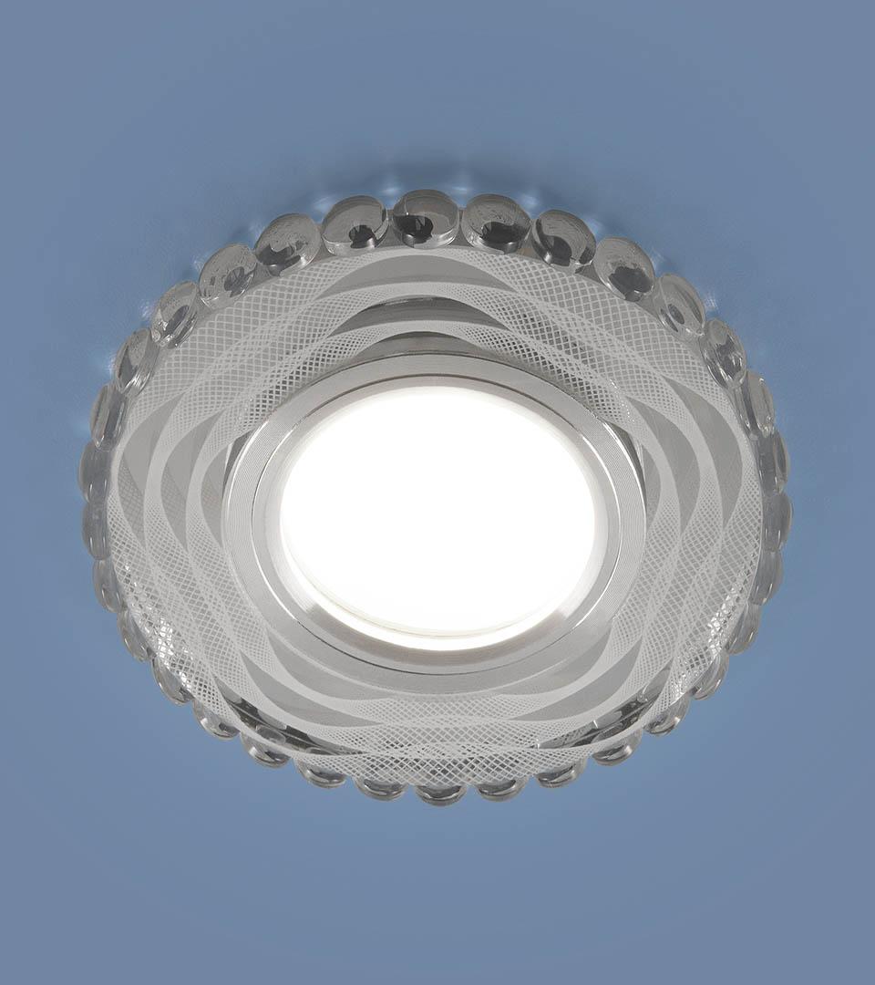 Встраиваемый точечный светильник с LED подсветкой 2246 MR16 2