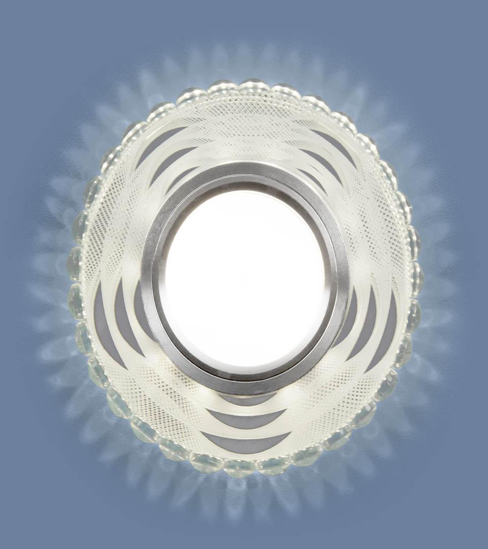 Встраиваемый точечный светильник с LED подсветкой 2246 MR16 3