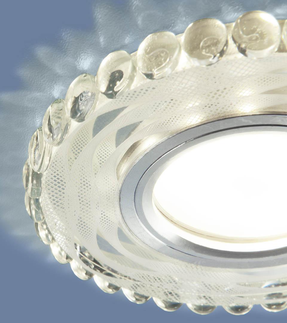 Встраиваемый точечный светильник с LED подсветкой 2246 MR16 4