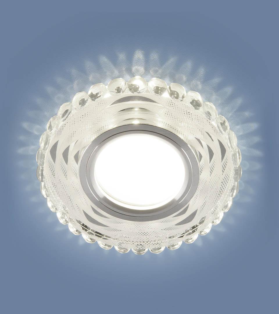 Встраиваемый точечный светильник с LED подсветкой 2246 MR16 5