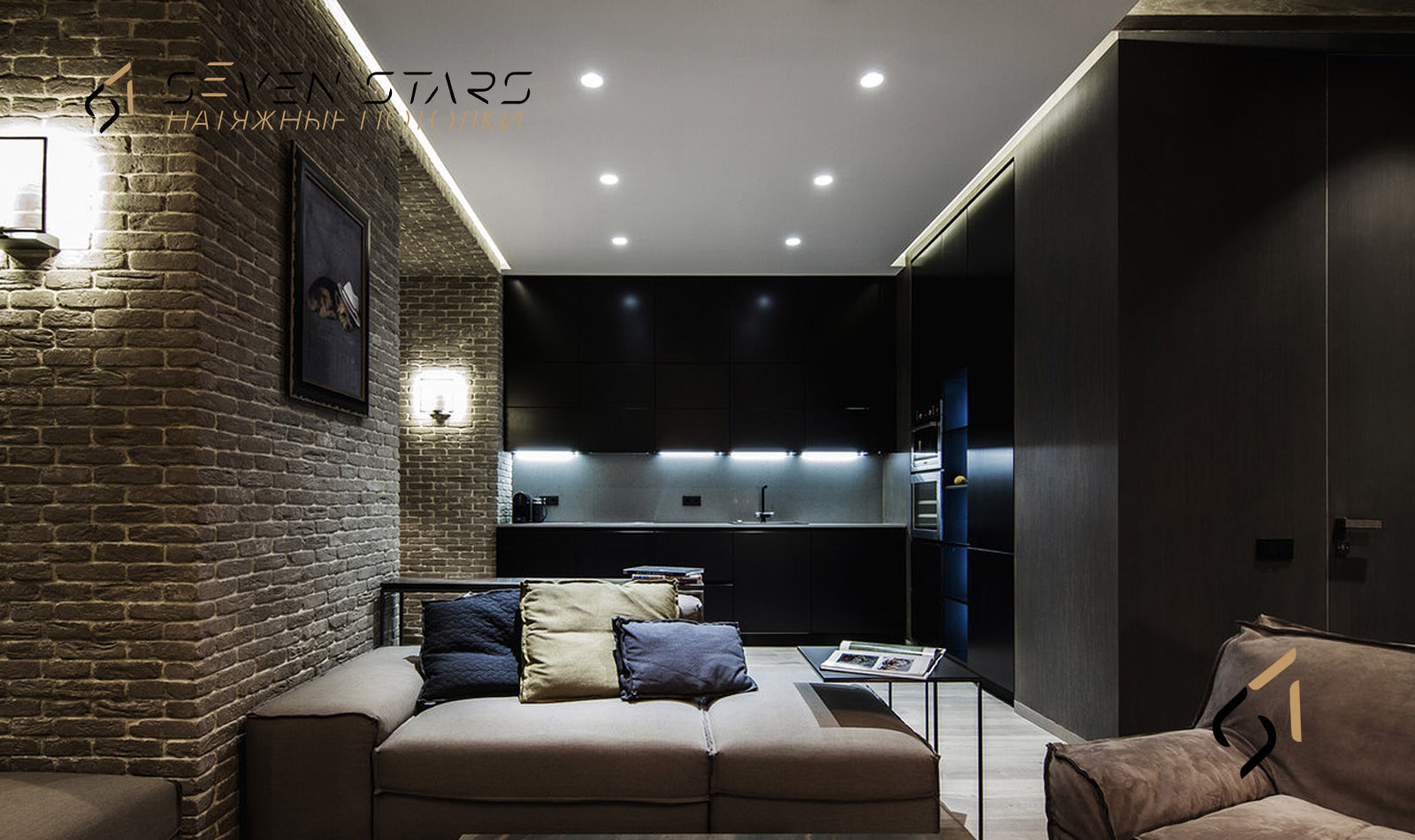 Галерея матовых потолков 7