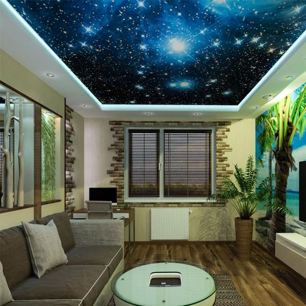 Цены потолков звездное небо 3